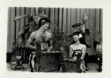 [Performance of a Balinese style gender wayang]