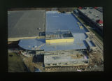 [Aerial view of Retriever Athletic Center (RAC) construction]