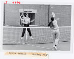 [Girls tennis, Spring 1974]