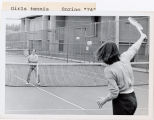 [Girls Tennis Spring 1974]