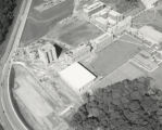Aerial view of the campus, top left of sheet
