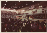 [Commencement, 1976, wide shot of the ceremony]