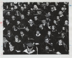 [Commencement, 1973, wide shot of students]