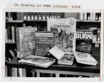 [Books on Display at UMBC Library, 1974]