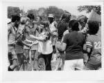 [Library staff members at the June 1977 Library picnic]