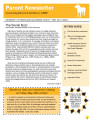 Parent Newsletter (May 2011)
