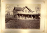 [Wooden house with long porch]