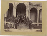 [General Sumner and staff, Warrenton, Va., November 13, 1862]