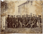[Lt. Col. Thompson, Major Allen, Captain Walker, Colonel  Tidbull, General  Pleasanton, Captain...