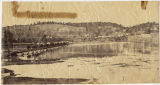 [Pontoon bridge across Potomac at Berlin, Maryland]