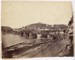 [View of Harpers Ferry & Iron Bridge of the Baltimore & Ohio from the Maryland side...