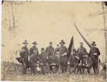 [General Ambrose Burnside and staff officers, Warrenton, Virginia]