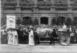 City Hall, Baltimore - suffrage parade - July 29
