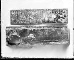 [Drain pan, Maryland Chocolate Company, underside]