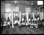 [Boys in shower room of Baltimore City school no. 108]