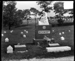 [Schmidt headstone in Oak Lawn Cemetery]