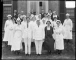 [Group portrait of Sydenham Hospital staff]