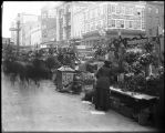 [Outdoor flower stalls, Lexington and Eutaw Streets]