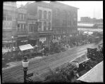[Outdoor stalls, Eutaw and Marion St.]