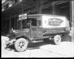 [McCormick & Co. delivery truck at loading dock]