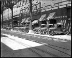 [Automobiles in front of JW Crook store, Baltimore]