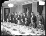 [Boys' Latin School football team dinner, Baltimore]