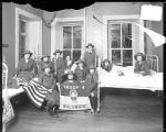 [Group portrait of Girl Scouts of America Troop 4, Baltimore]
