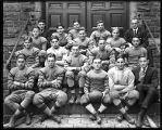 [Group portrait of football team]