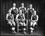 [Group portrait of YMCA basketball team]