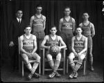 [Group portrait of basketball team]