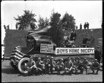 [Boys Home Society float]