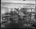 SS Hamilton -Old Dominion Line, dining saloon