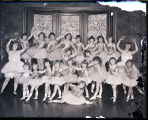 [Group portrait of girls of Langloty dance class]