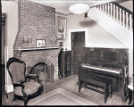 [Interior room with Marshall & Wendall piano]