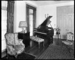 [Interior of home with Knabe piano]