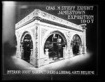 [Poster for Stieff Piano exhibit, Jamestown Exposition 1907]