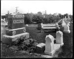 [Sommers headstones in Oak Lawn Cemetery, Baltimore]