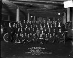 [Group portrait of officers, superintendents & employees of Yellow Cab Co.]