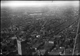 [Aerial view of Baltimore looking southwest]
