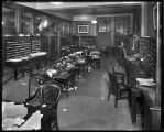[Interior of Merchants National Bank]