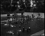 [Gwynns Falls Park swimming pool]