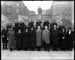 [Group portrait of Health Department officials]