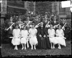 [Group portrait of graduates of Corpus Christi Church, Baltimore]