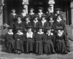 [Group portrait of Goucher College graduates]