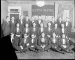 [Group portrait of Kappa Alpha fraternity members]
