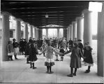 [Children playing at Maryland School for the Blind]