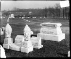 [Schmidt headstones in cemetery]
