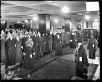 [Women's coats in department store]
