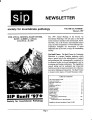 SIP Newsletter (Volume 29, Number 1)