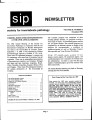 SIP Newsletter (Volume 28, Number 3)